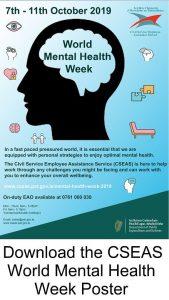 DOWNLOAD the CSEAS World Mental Health Week Poster